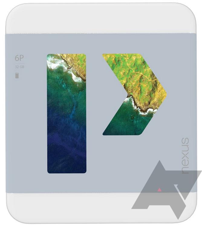 Huawei Nexus 6P pakovanje