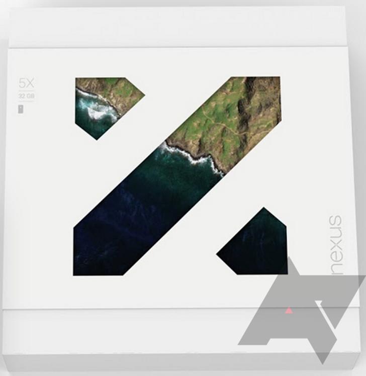 LG Nexus 5X pakovanje