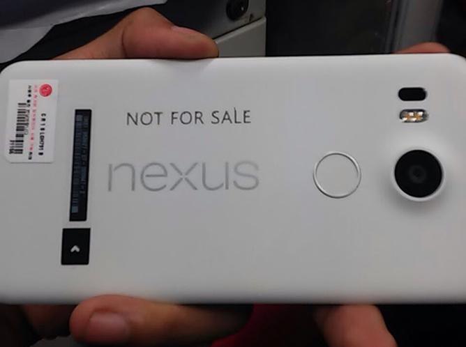 LG Nexus 5X poledjina