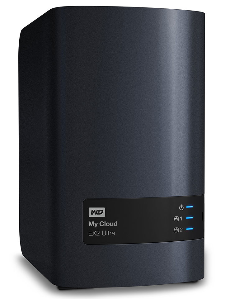 WD My Cloud EX2 Ultra NAS 01