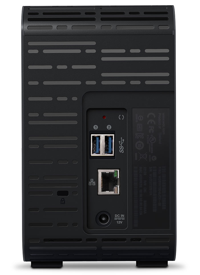 WD My Cloud EX2 Ultra NAS 02