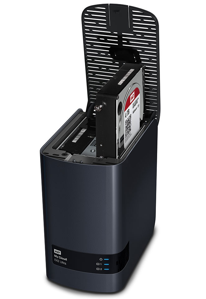 WD My Cloud EX2 Ultra NAS 03