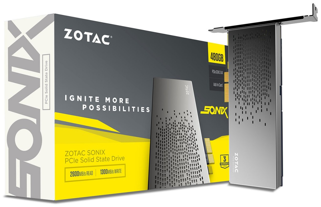 ZOTAC SONIX PCIe SSD 04