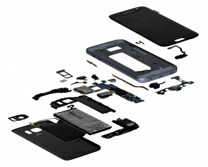 Samsung Galaxy S7 prikaz komponenti