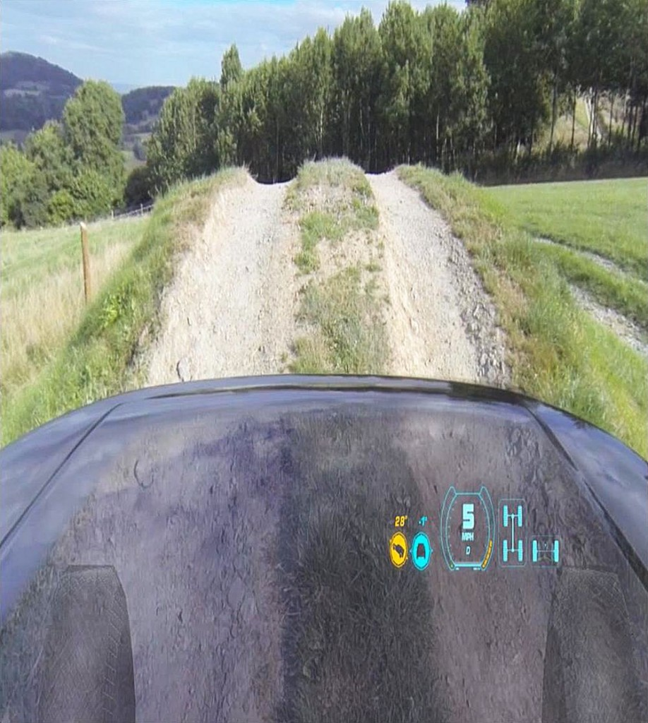 Land Rover providna hauba koncept