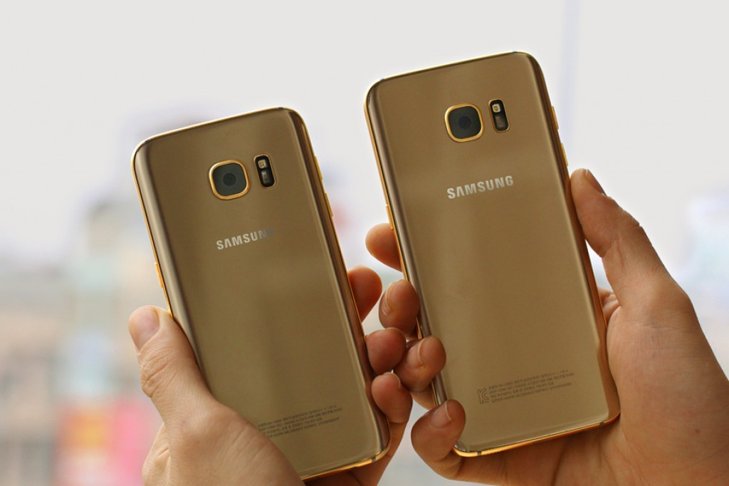 Samsung Galaxy S7 Gold 03