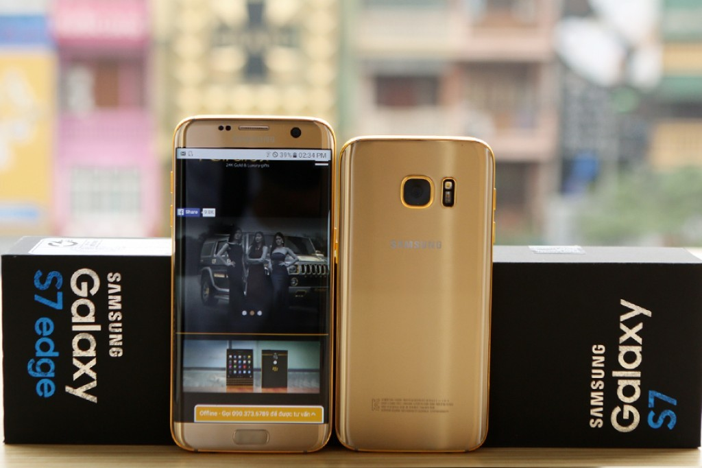 Samsung Galaxy S7 Gold 04