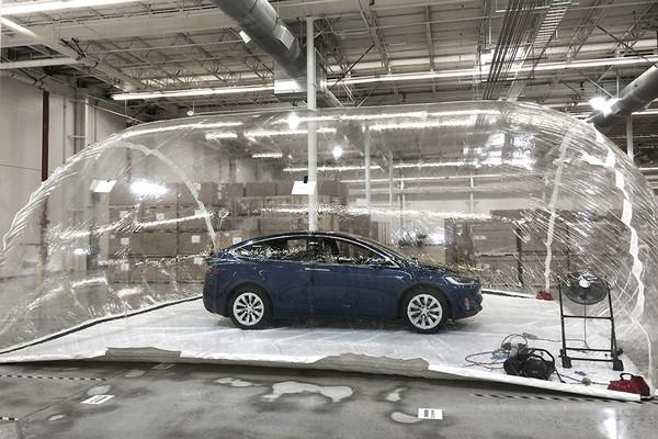 Tesla Model X Bioweapon Defense Mode 01