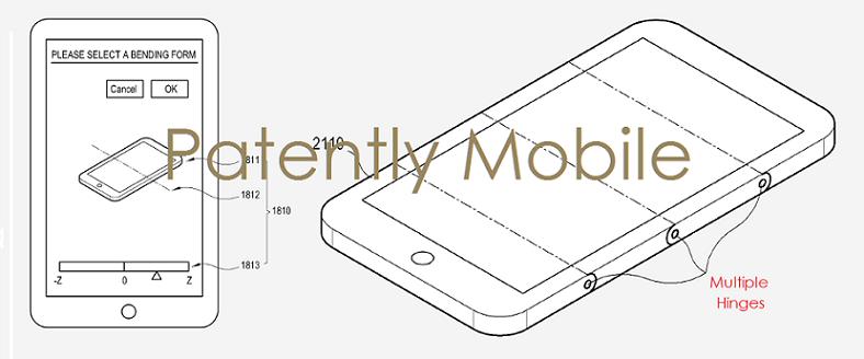 Samsung sklopiv telefon patenti 02