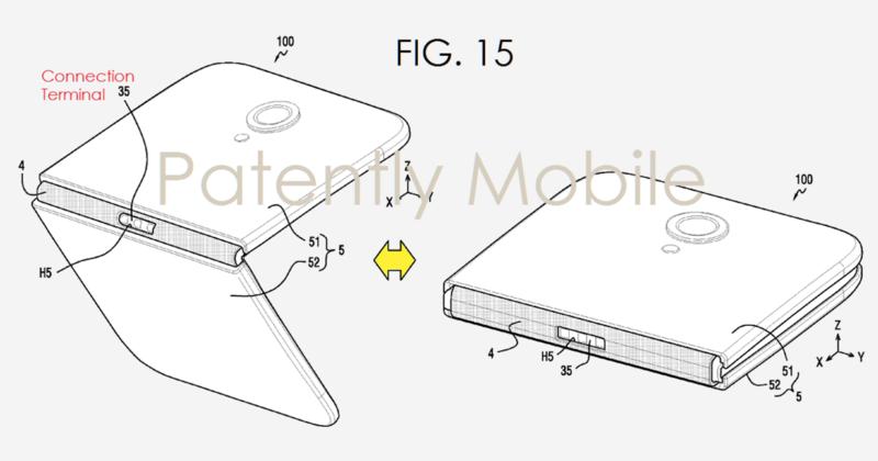 Samsung sklopiv telefon patenti 04