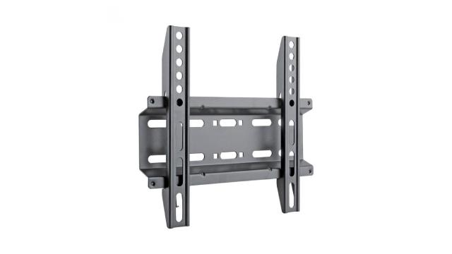 Čelični fiksni nosač za televizor S-BOX PLB 2522F crne boje pogodan za televizore dijagonale od 23 do 43 inča