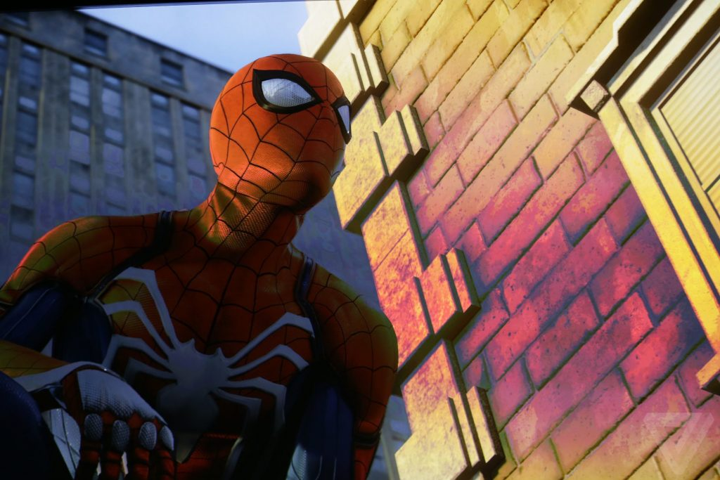 Spiderman PS4 Pro