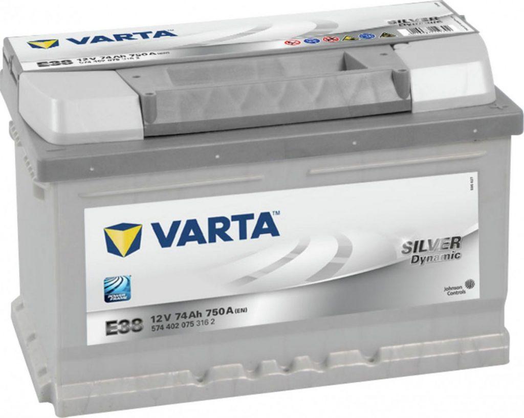 VARTA 12V74 AH D+