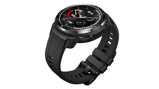 Honor Watch GS Pro pametni sat sa crnim kaišem za ljubitelje fitnesa
