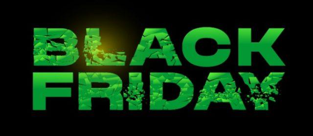Black Friday u WinWin-u - Zeleni tekst na crnoj pozadini