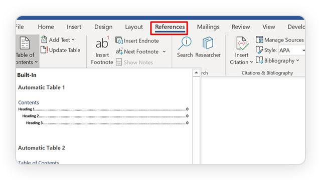 Prikaz kako dodati sadržaj u Word dokument