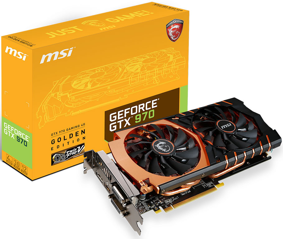 MSI GTX 970 Golden 51f