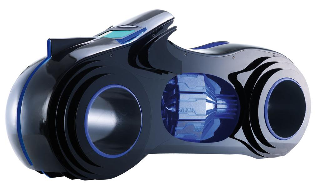 8 - TRON Lightcycle PC by Brian carter