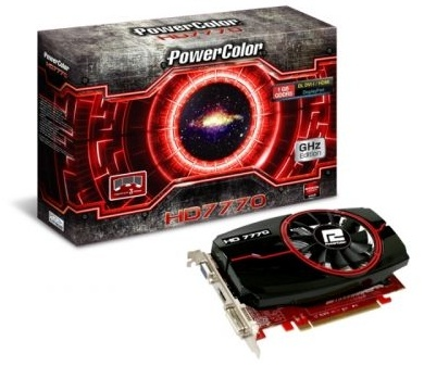 AMD Radeon 7770 Powercolor GHz Edition 1GB DDR5