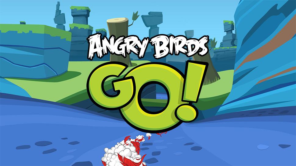 Angry Birds Go karting