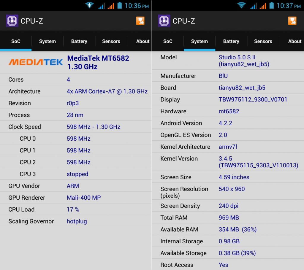 CPU-Z Studio 5.0 S II
