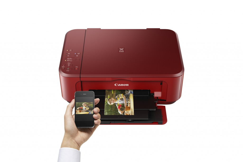 Canon PIXMA MG3650 red LIFESTYLE