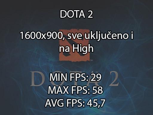 DOTA 2 benchmark