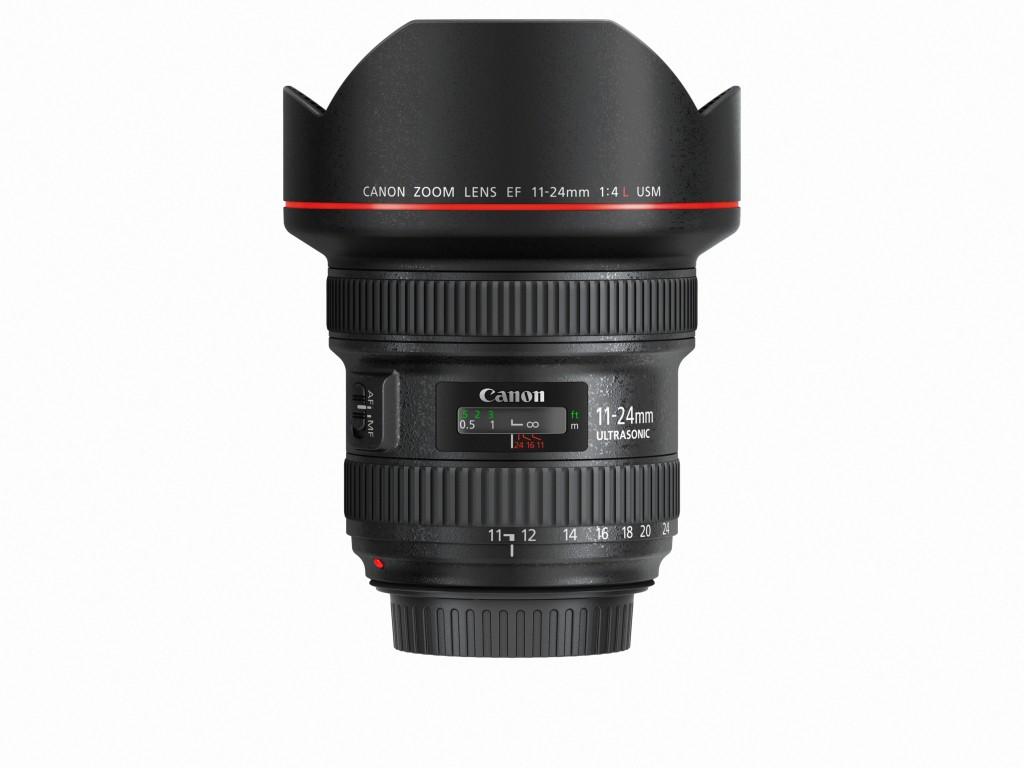 EF 11-24mm f4L USM Side with cap