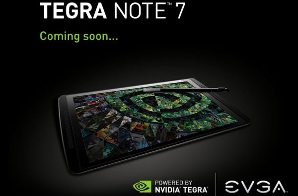 EVGA Nvidia Tegra Note 7
