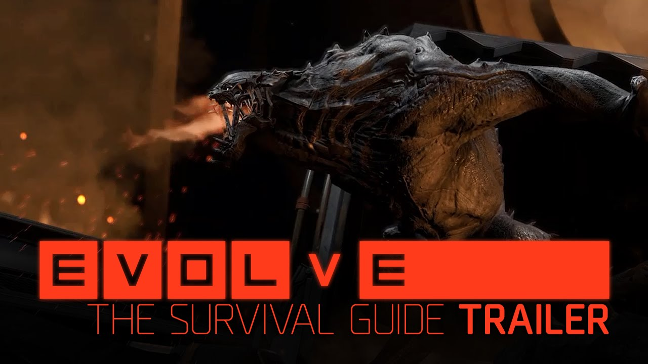 Evolve the survival guide trailer