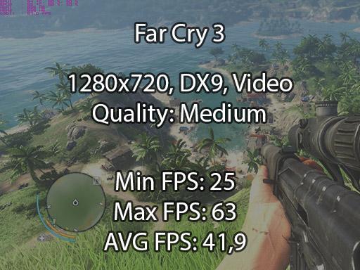 Far Cry 3 benchmark