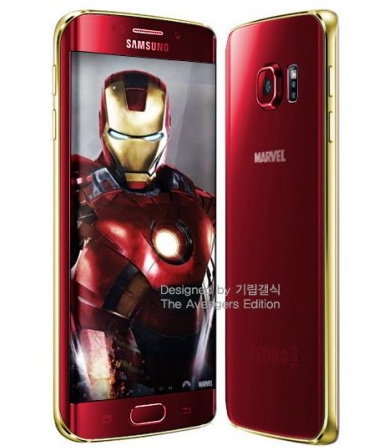 Galaxy S6 Edge Iron Man 02