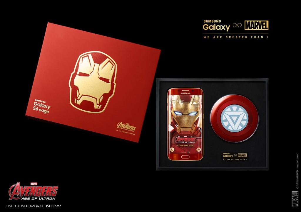 Galaxy S6 Edge Iron Man Edition 02
