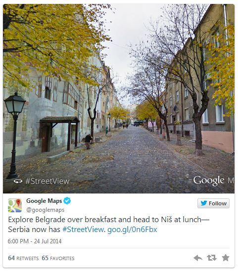 Google Maps tvit