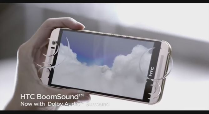 HTC One M9 BoomSound Dolby