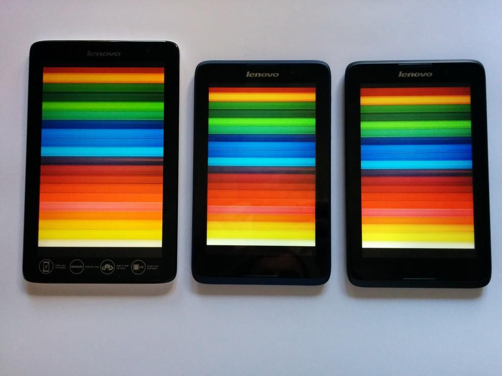 Uporedni test Lenovo tableta A-serije