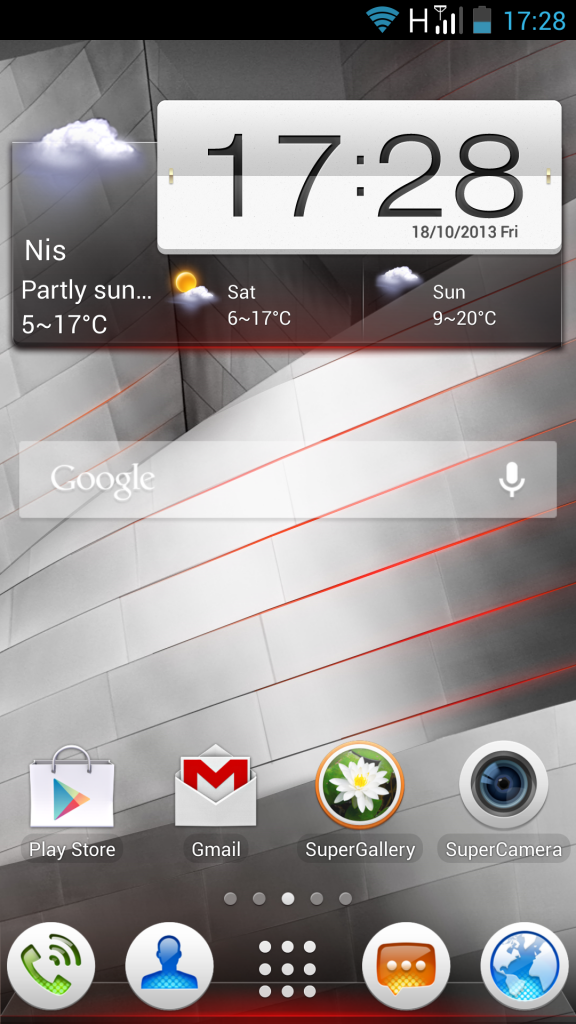 Lenovo K900 Screenshot 02