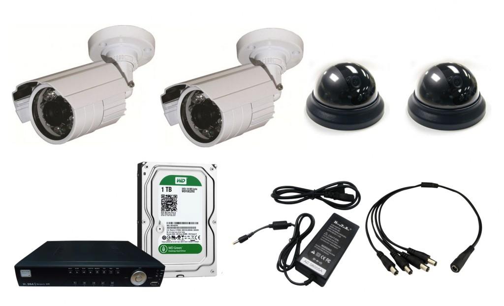 Komplet za video nadzor Western Security 1