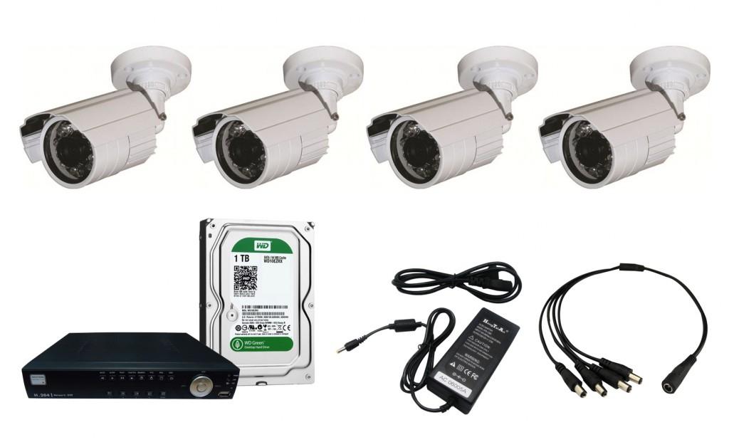 Komplet za video nadzor Western Security 2