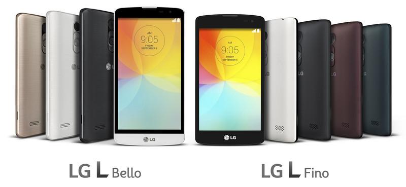 LG L Bello i LG L Fino
