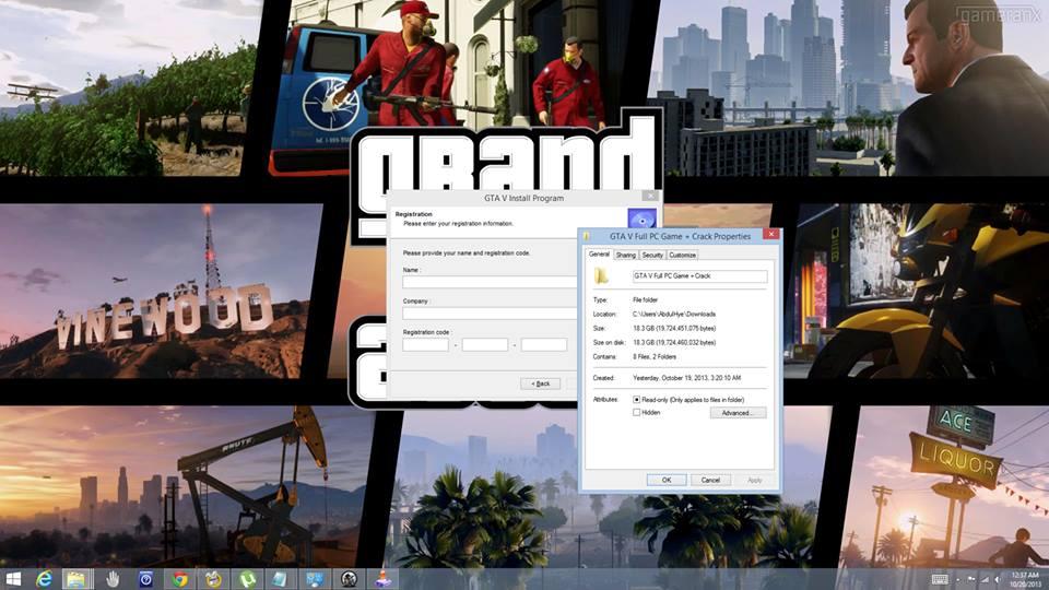 Lažni GTA V PC 01