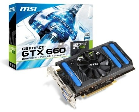 MSI GeForce GTX660 OC 2GB DDR5