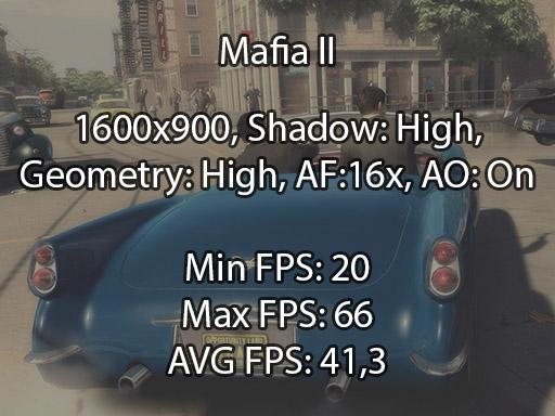 Mafia II N76VB benchmark