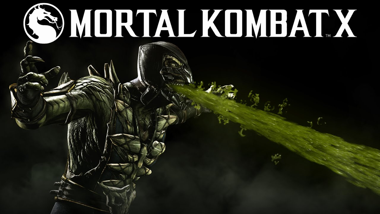 Mortal Kombat X Reptile gameplay trailer