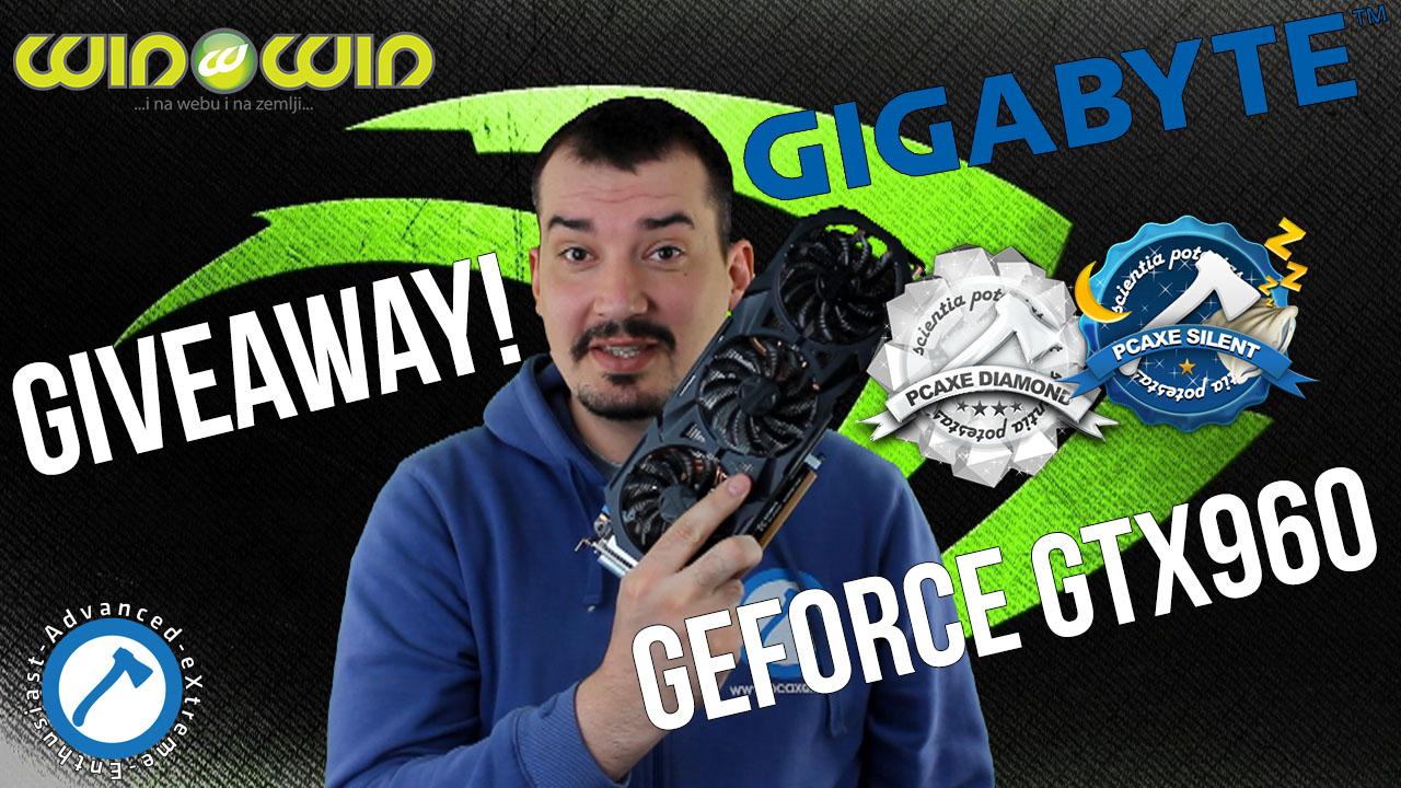 NVIDIA GIGABYTE GTX960 GIVEWAY – Najava