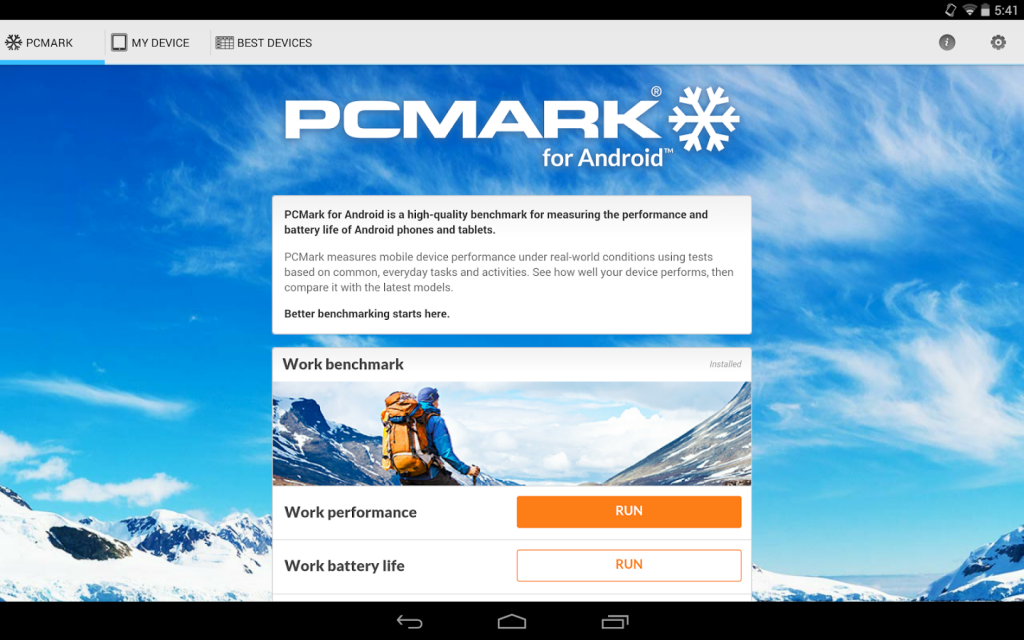 PCMark Androi 00