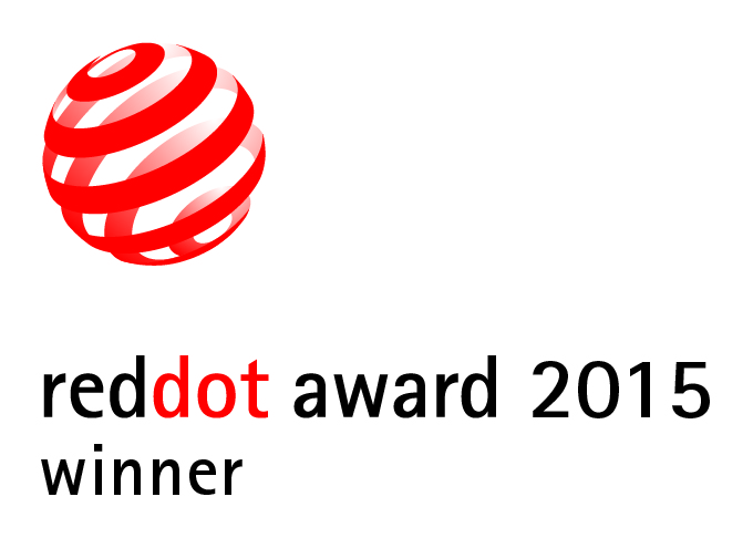 Red Dot Award 2015 winner