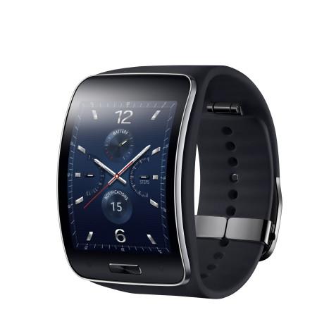 Samsung Gear S Blue Black