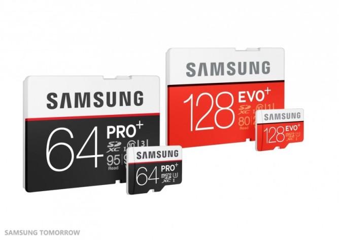 Samsung Pro Plus i Evo Plus