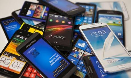 Gomila pametnih telefona